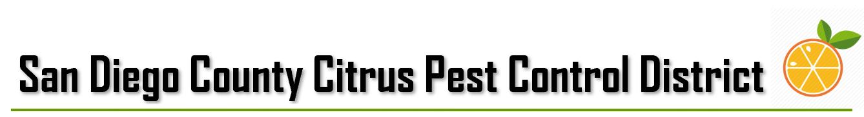 San Diego County Citrus Pest Control District