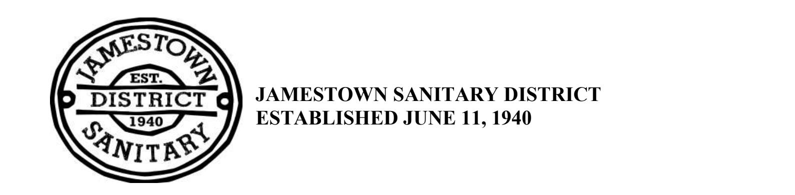 Jamestown Sanitary District